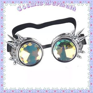 Other - Silver🆕💙Spike &Rainbow Steampunk Design Lenses💙